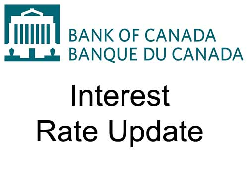 Bank of Canada will hold current level of policy rate until inflation objective is achieved, continues quantitative easing