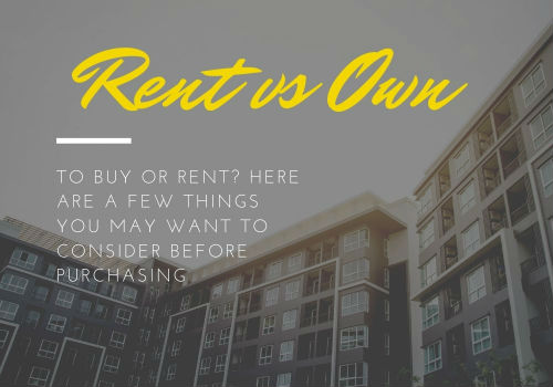 Renting Versus Buying a Home in Airdrie and Cochrane, Alberta